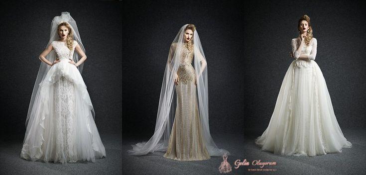Ersa Atelier 2015 Sonbahar Gelinlik Modelleri  #wedding