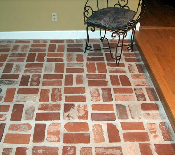 Old St Louis And Old South Carolina Mix Antique Brick Floor Tile Hecho En Casa Pinterest
