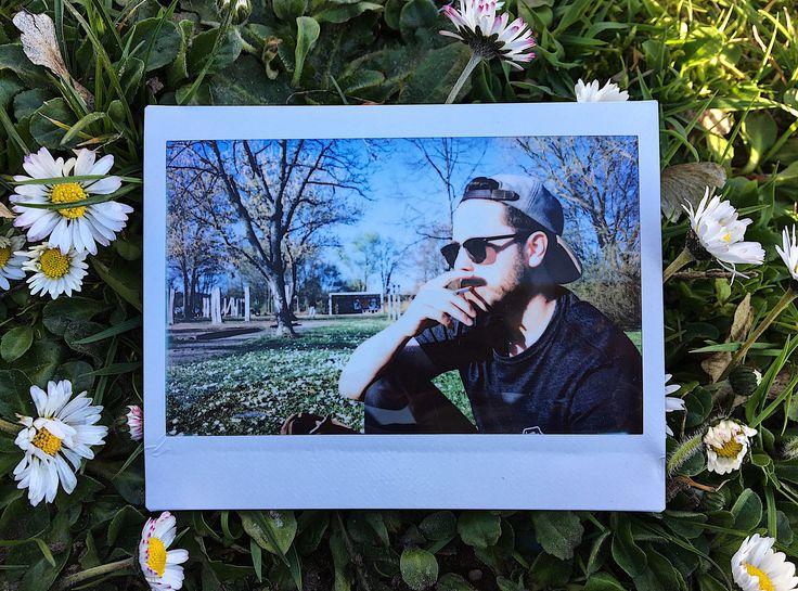 https://flic.kr/p/CRsghC | that1with the chiller, & the hundred-dollar-biller. | #fujiFilm #instax #instantPhotography #polaroid #polaroidWeek #roidWeek #portraiture #boy #man #skate #skaterBoy #smoke #chilling #spring #summer #throwback #memories #flowers #daisies