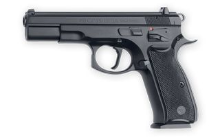 The CZ 75 B SA.Loading that magazine is a pain! Get your Magazine speedloader today! http://www.amazon.com/shops/raeind