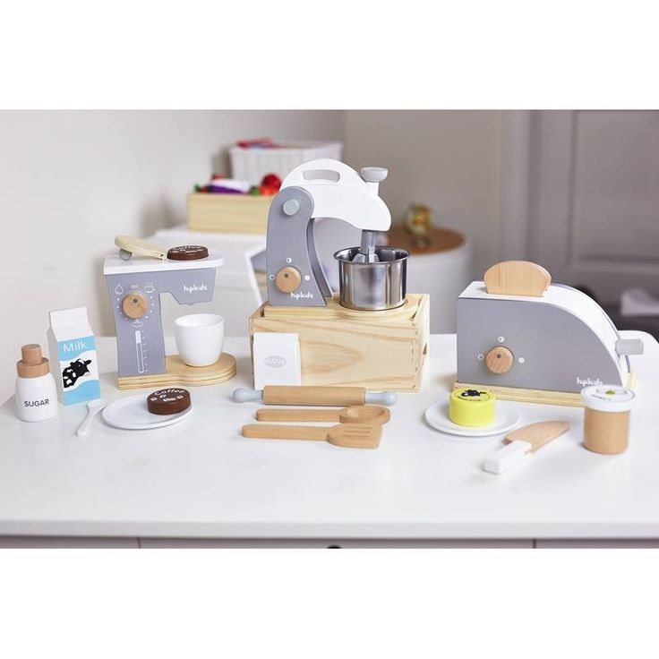 This Wooden Toy Kitchen Accessories Value Pack Will Delight Any Little  Budding Pastry Chef. It