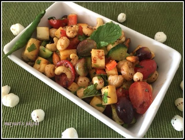 36 best ekadashi recipes images on pinterest farali recipes 580 makhana and paneer salad forumfinder Choice Image