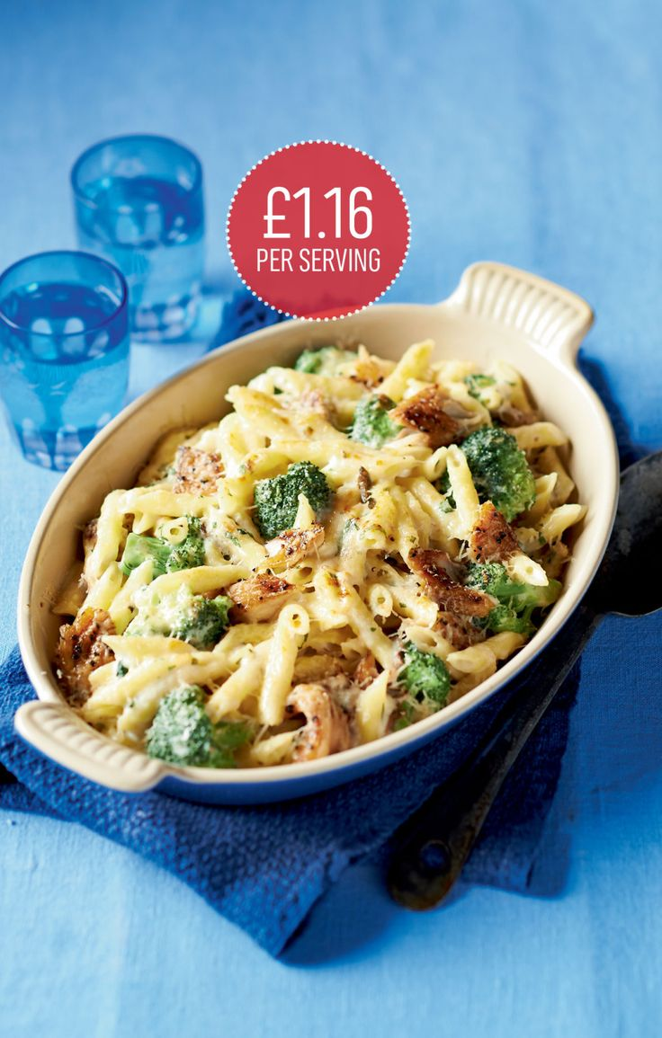 Smoked mackerel and broccoli gratin - March 2014