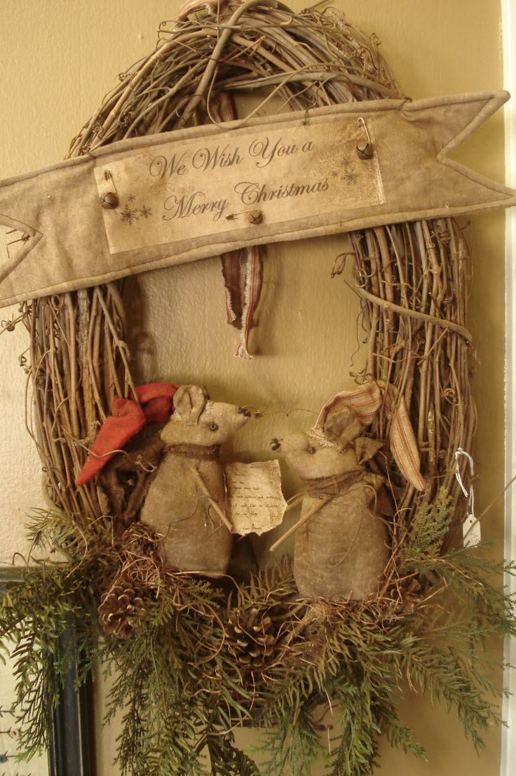 Primitive christmas craft ideas - Find This Pin And More On Christmas Thyme Ideas