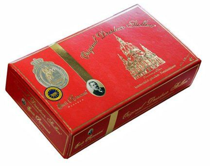 Emil Reimann Dresdner Stollen 'Church of Our Lady' in Red Gift Box - 1,000g / 35.6 Oz - http://www.fivedollarmarket.com/emil-reimann-dresdner-stollen-church-of-our-lady-in-red-gift-box-1000g-35-6-oz/