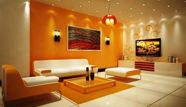 Erstaunlich Wohnzimmer Wandfarbe Ideen Malerei Ideen Fur