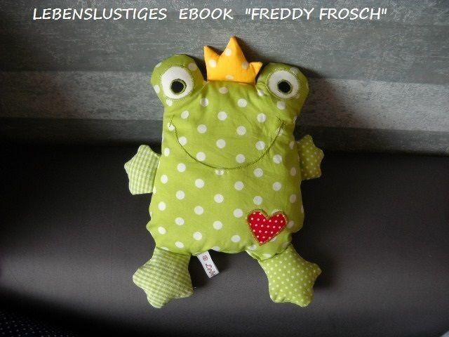 """ebook """"Freddy Frosch"""" von Lebenslustigkeiten auf DaWanda.com"""