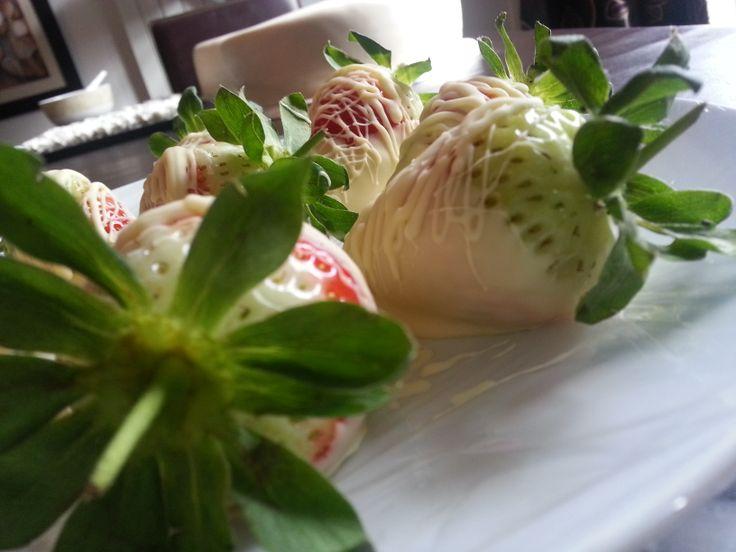 #White #Chocolate #Strawberry