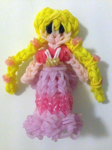 Rainbow Loom Disney Princess Aurora