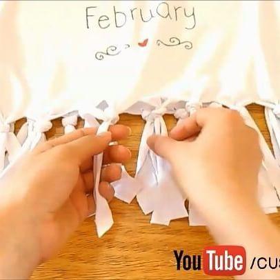 Aprenda a customizar camisetas assistindo a vídeos de faça você mesmo, muitas ideias lindas e fáceis de fazer!