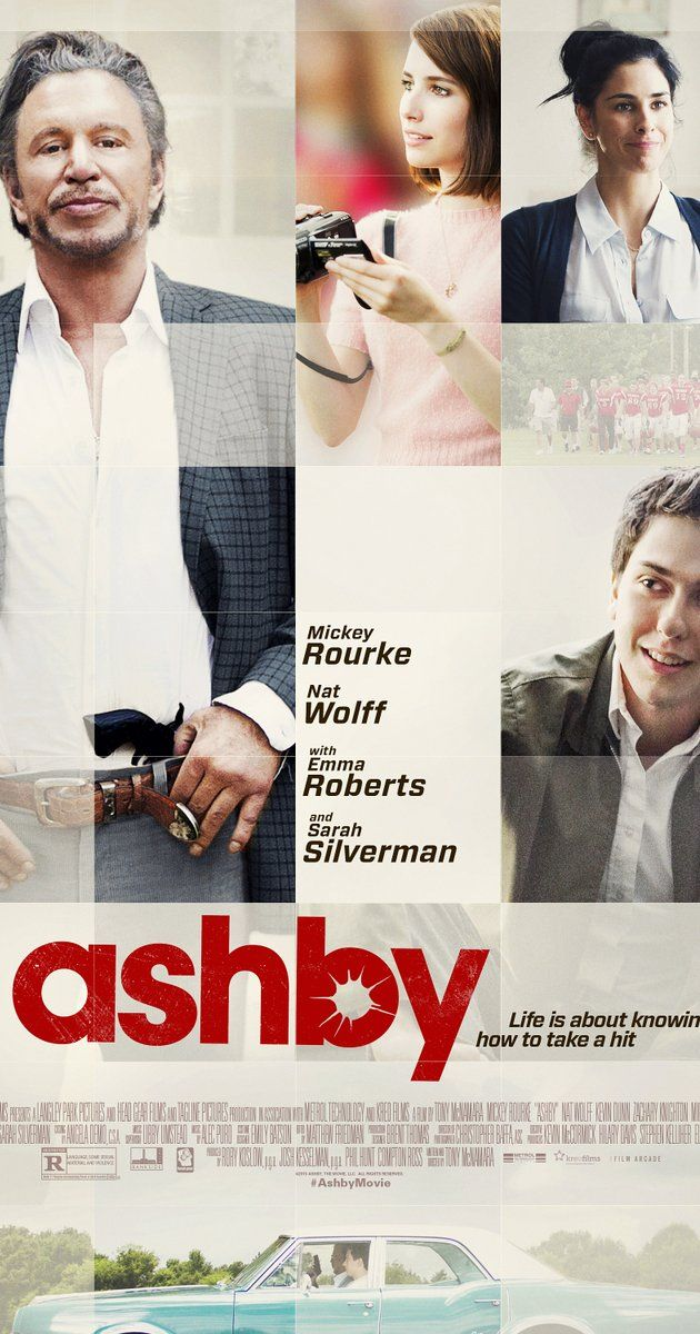 Directed by Tony McNamara.  With Mickey Rourke, Nat Wolff, Emma Roberts, Sarah Silverman. High-school student Ed Wallis enters into a friendship with his neighbor, Ashby, a retired CIA assassin who only has a few months left to live.