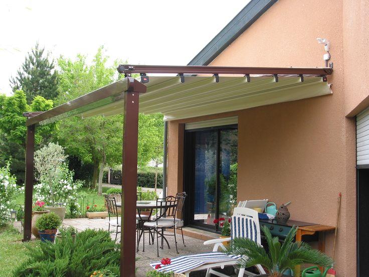 Pergole retractabile Dialc Rom, modele pergole Med 85 cu structura Comby din aluminiu pentru terase locuinta. Acoperisuri retractabile  recomandate inclusiv pentru terasele de mici dimensiuni sau pentru balcoane.