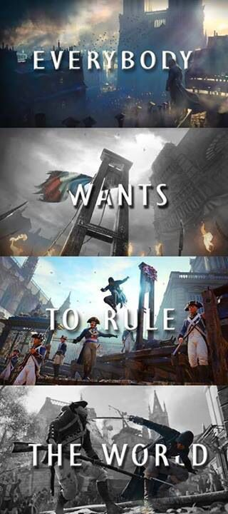 Assassin's Creed: Unity - The New Assassin Creed will Be Out On 28 October  Everybody Wants To Rule The World