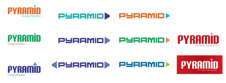 Logo Design for an education institute - Pyramid Pixels Studio | Pyramid Pixels Studio