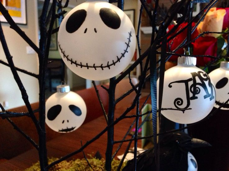 1000 images about nightmare before christmas tree on - Jack skellington christmas decorations ...