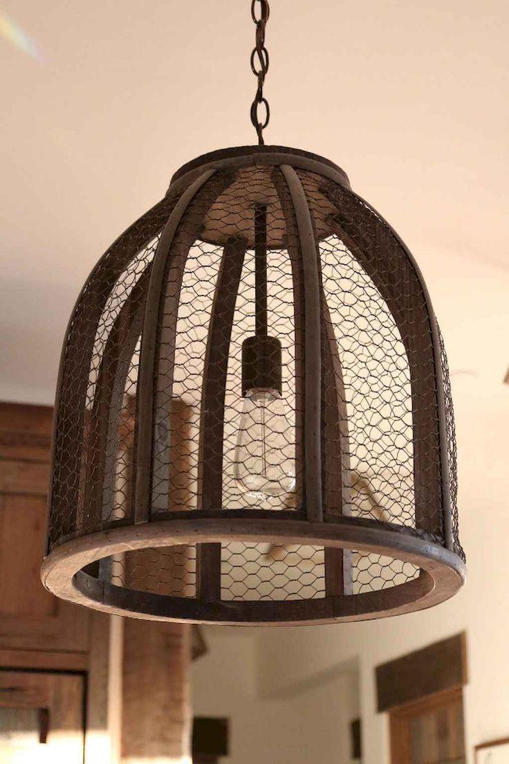 100 Rustic Farmhouse Lighting Ideas On A Budget (29