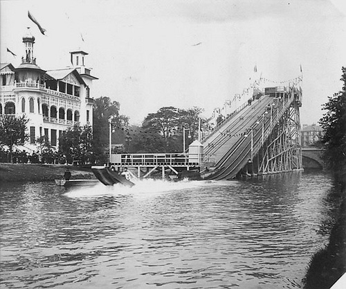 Canadian Water Chute, Glasgow International Exhibition (1901)