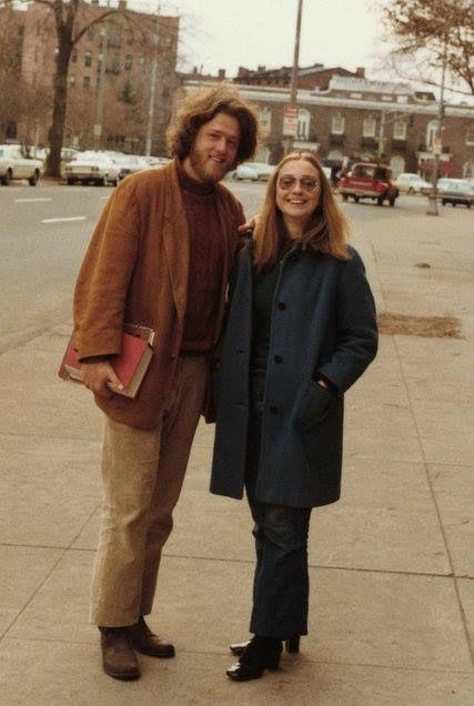 Bill y Hillary Clinton. Universidad de Yale. 1972.