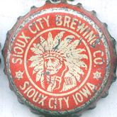 Sioux City Brewing Co., beer bottle cap   Sioux City, Iowa USA   Cap used 1934-1937