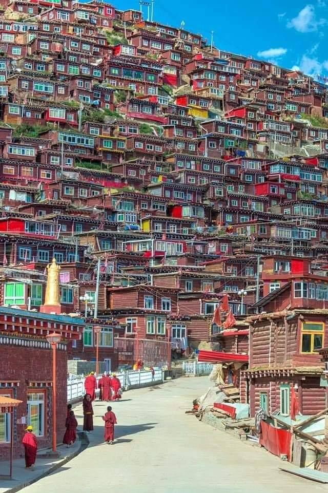 A Village In Tibet O Amazing Places On Earth Beautiful Places To Travel Travel Around The World