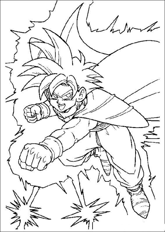 Dragon Ball Z 41 Dibujos Faciles Para Dibujar Para Ninos Colorear Dibujos Dragon Ball Z Dragones