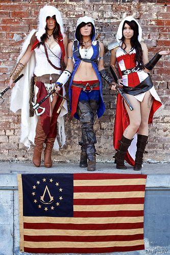 Trifecta | Models: Lindsay Elyse, Jessica Nigri, and Angelic… | Flickr