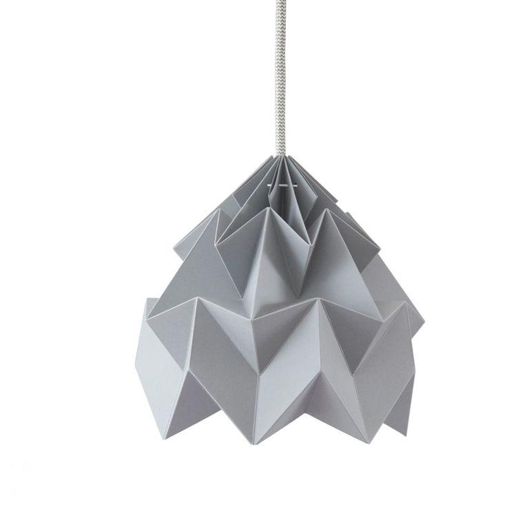 Moth Lampe - Grå