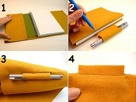 17 best images about cuadernos y libretas on pinterest - Manualidades para hogar ...