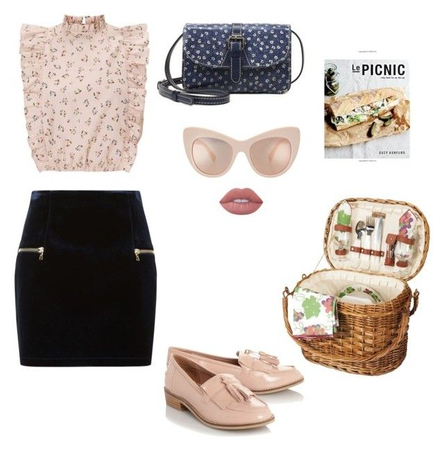 """""""Picnic"""" by mariapauladiaz142 on Polyvore featuring Debbie Bliss, Steve Madden, Sandro, Patricia Nash, STELLA McCARTNEY and Lime Crime"""