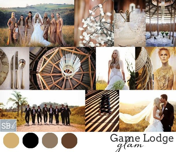 South African Wedding Style #2: Game Lodge Glam