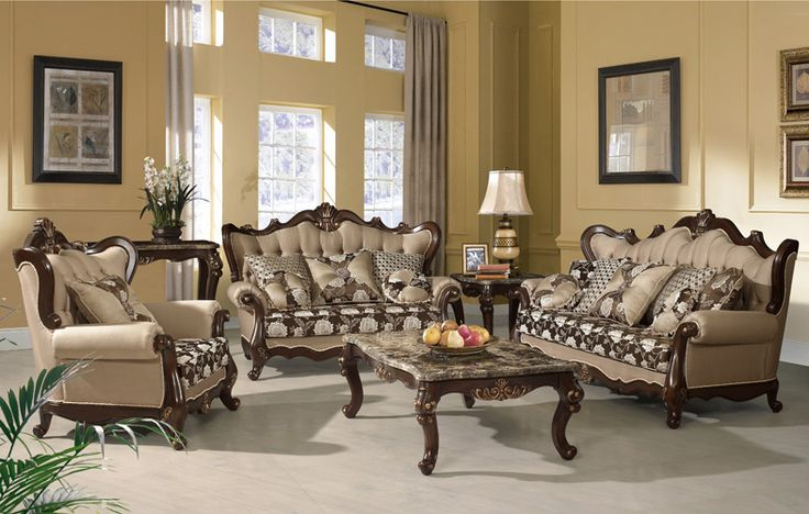 This special collection of Netherlands Coffee Table Set, features handcrafted wood design with gold trimmings. The wood are made of solid wood with birch wood veneer. The top are made of Italian Marble with Queen Anne legs. This special traditional coffee table set will turn your home into a more luxurious space.