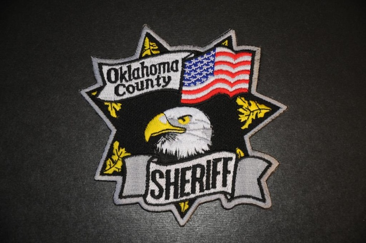 Oklahoma County Sheriff Patch, Oklahoma (Current Issue