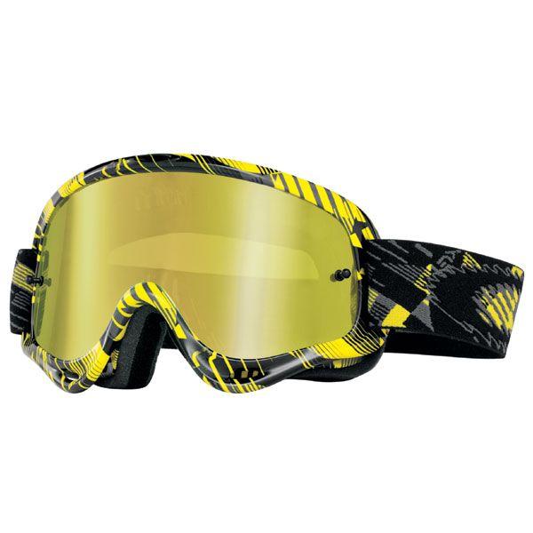 f251506434 Oakley XS O-Frame MX Off Road Goggles - Digi-Slash Grey-Yellow 24K Iridium  Lens