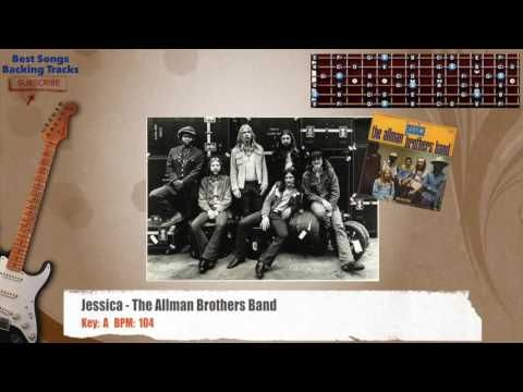 Jessica - The Allman Brothers Guitar Backing Track - YouTube