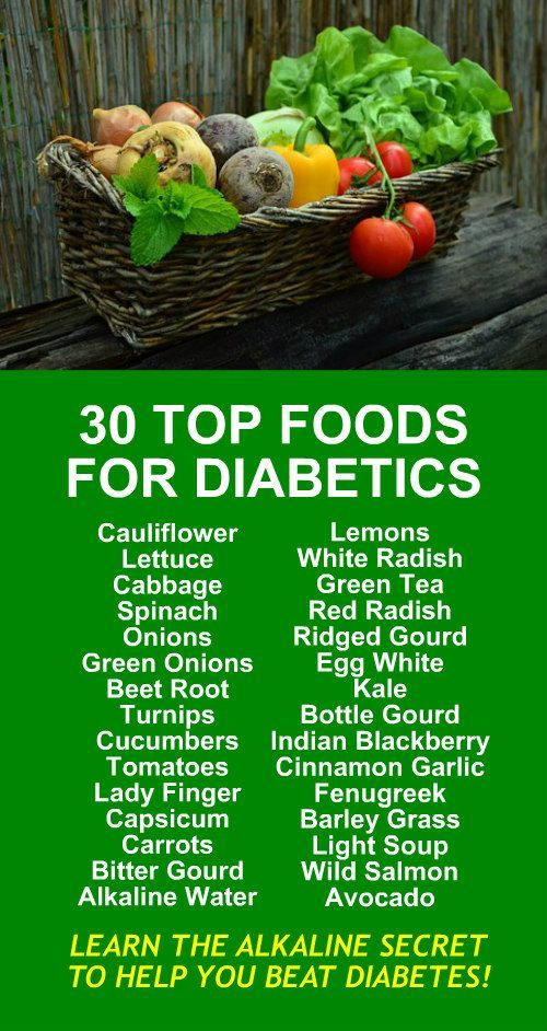 30 TOP FOODS FOR DIABETICS. Learn the alkaline secret to help you beat diabetes. It's alkaline rich Kangen Water that is hydrogen rich, antioxidant loaded, ionized water that neutralizes free radicals that cause oxidative stress which allows your body to