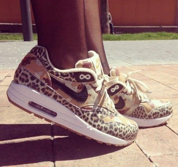 Cheetah print nike air maxes | Schoenen, Nike schoenen, Nike