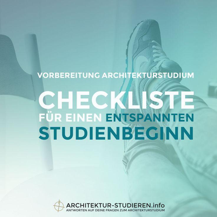 Dein erstes Semester im Architekturstudium fängt bald an? Wie du dich für einen entspannten Studienbeginn vorbereitest, erfährst du hier!