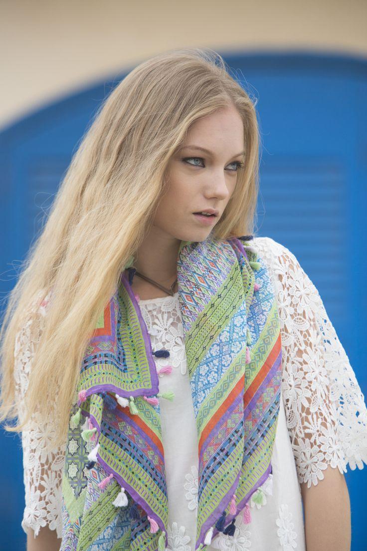 #pashmina #pañuelo #scarf #fular #estampado