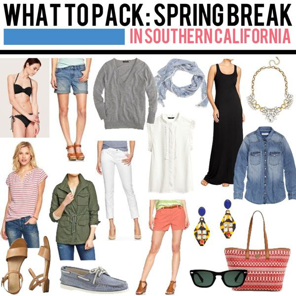 what to pack: spring break!