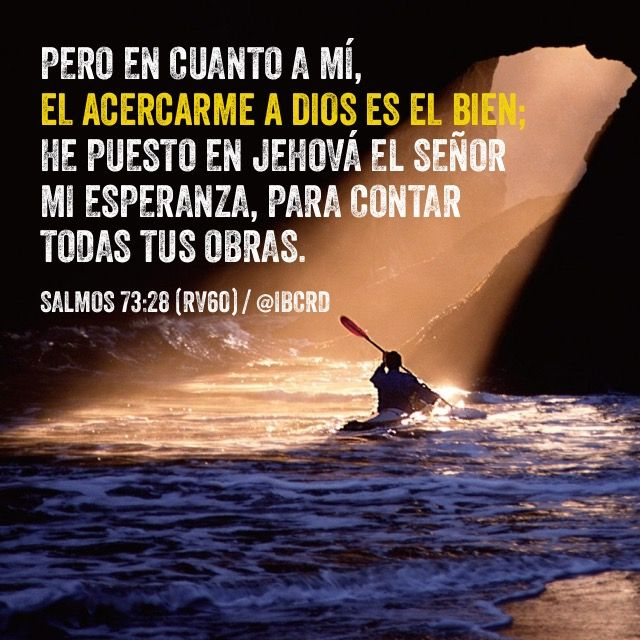Salmos 73:28 Reina-Valera 1960 (RVR1960)