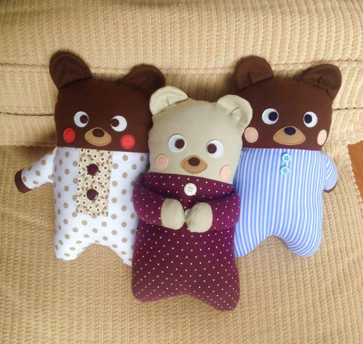 Naninhas -Urso de tecido