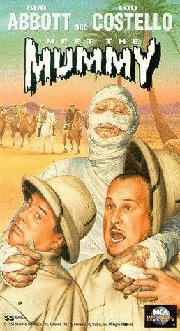 Abbott and Costello Meet the Mummy (1955) Poster