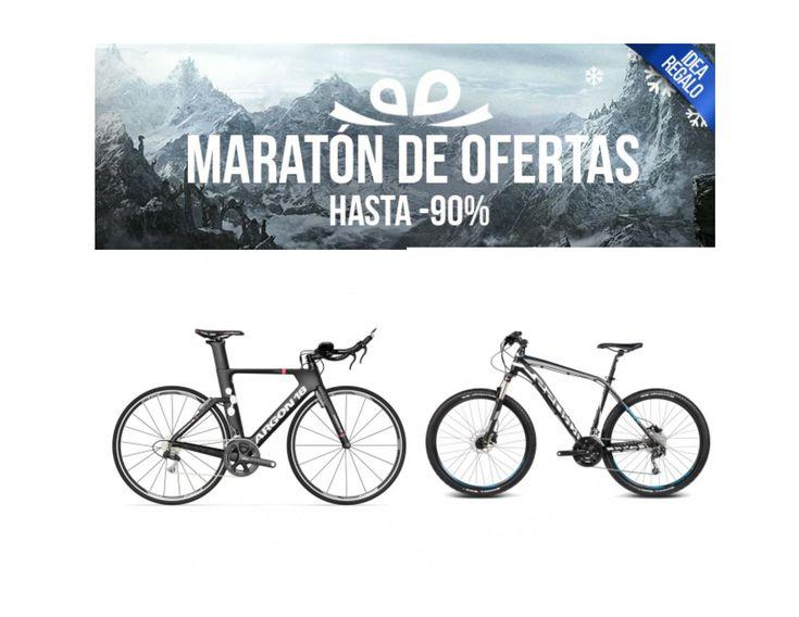Maratón de ofertas. Bicicletas varias marcas desde 182,95 euros
