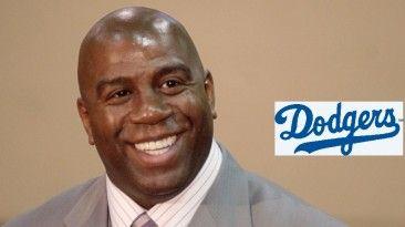 Tiene acciones con Los Dodgers y con el equipo de basket femenino LA Sparks march 22, 2014
