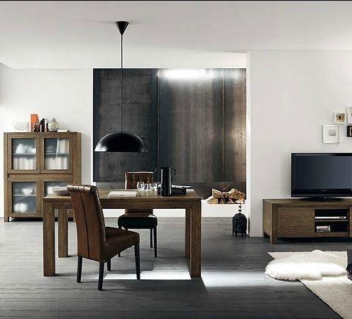tavolo e soggiorno il legno massello grezzo. #arredamenti #itesoricolonilali #legno #interiordesign #deign #homestaging #tavoli #portatv