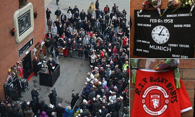 Manchester United hold Munich air disaster memorial