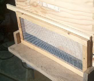 #BEE'S: Screen to protect your weak/new hive from being ...