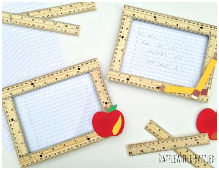 Teacher's Rule: DIY Teacher Appreciation Gift – Dazzle While Frazzled - Teacher Gift Ideas featured on Kenarry.com