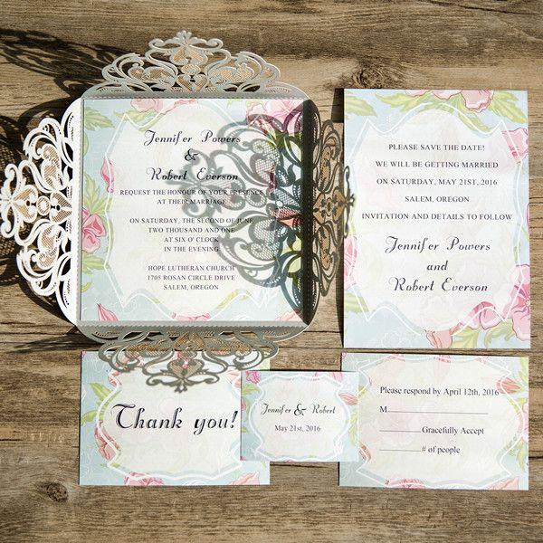 Wedding:Summer Invitations