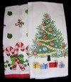 reproduction vintage Christmas linens